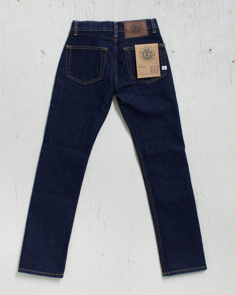 ELEMENT -DESOTO BOY DENIM SB RAW  - 2