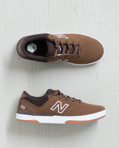 NB# -PJ STRATFORD 533 BROWN/SUEDE  - 1