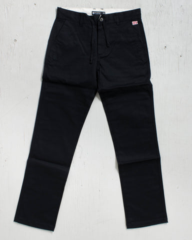 ELEMENT -92 CHINO BLACK  - 1