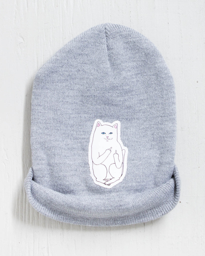 RIPNDIP -LORD NERMAL HEATHER GREY  - 2