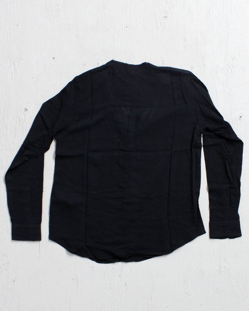 OBEY -TOMPKINS BUTTON-DOWN BLACK  - 2