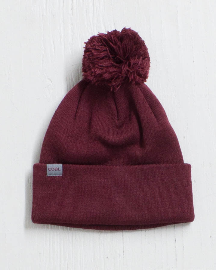 COAL THE PABLO BURGUNDY Beanie