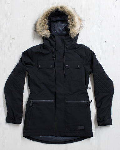 VOLCOM -SHADOW INS JACKET BLACK  - 1