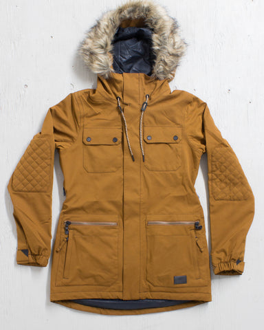 VOLCOM -SHADOW INS JACKET COPPER  - 1