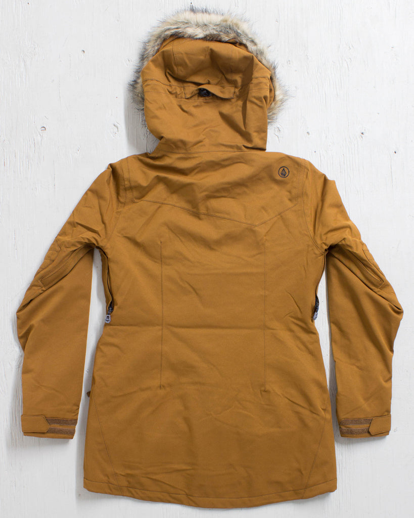 VOLCOM -SHADOW INS JACKET COPPER  - 3