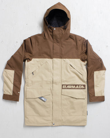 ARMADA -ZERO SENECA INSULATED JACKET KHAKI  - 1