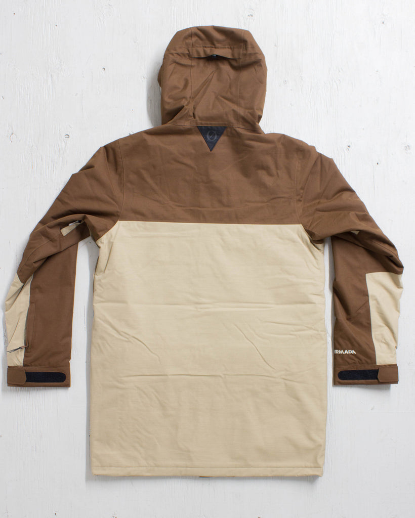 ARMADA -ZERO SENECA INSULATED JACKET KHAKI  - 3