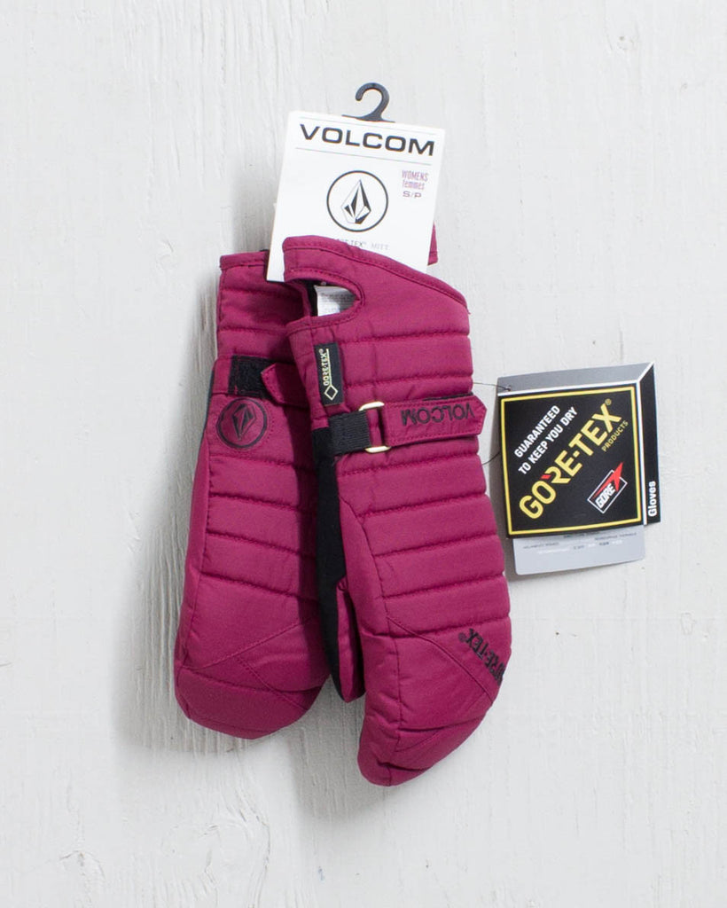 Gloves and mitts VOLCOM PEEP GORE-TEX MITT MULBERRY