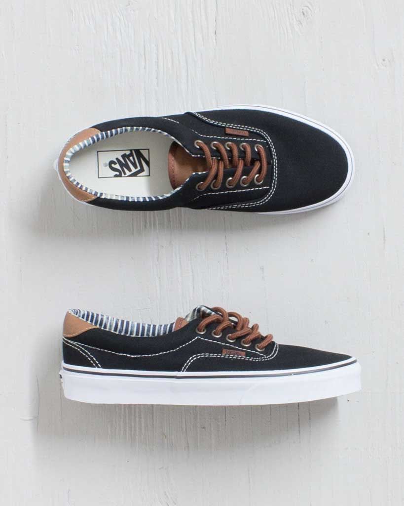VANS -C&L ERA 59 BLACK STRIPE DN
