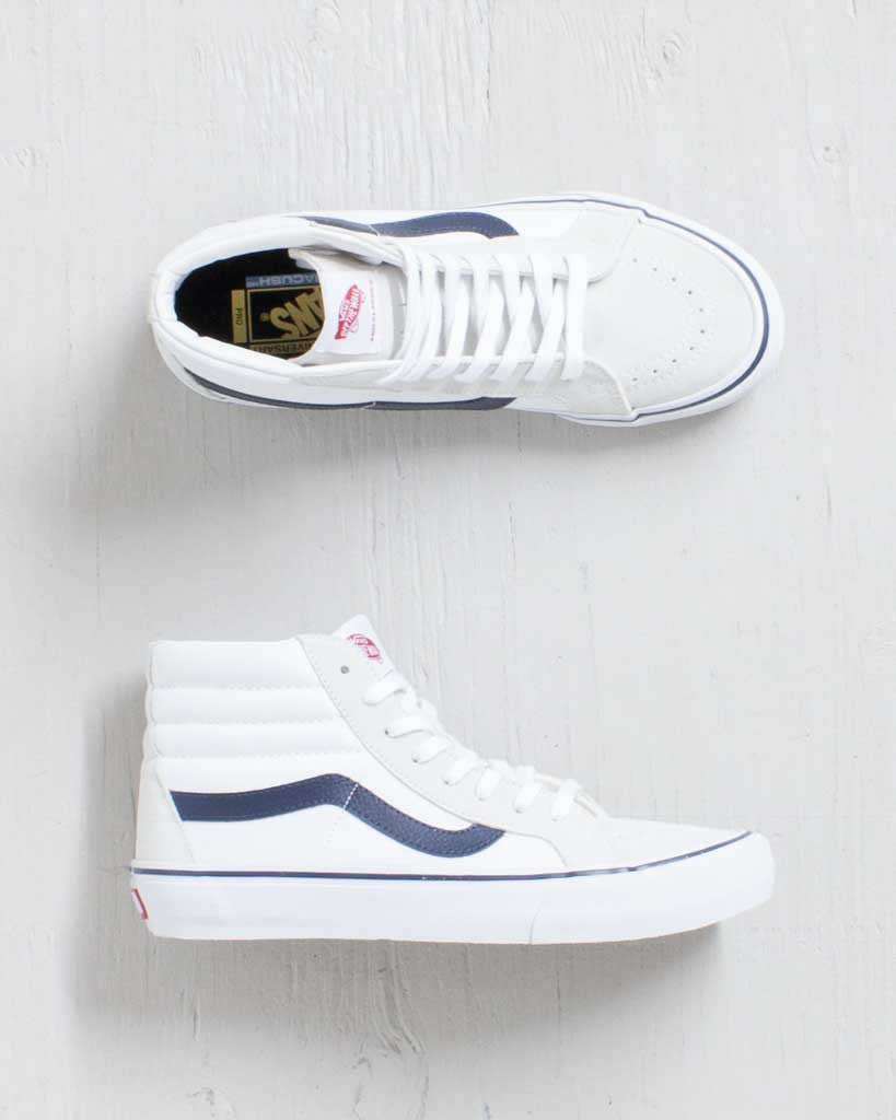 VANS -SK8-HI REISSUE PRO 50TH '81 WHITE/NAVY