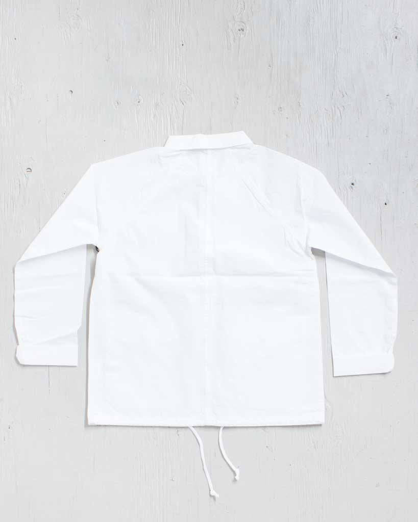 VANS -PROGRAM JACKET WHITE  - 2