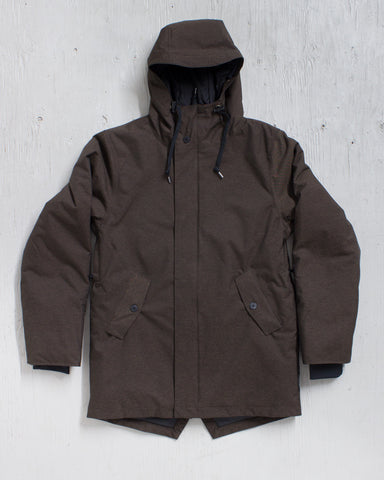 AIRBLASTER -HOT GULLY PARKA BRINDLE MIX  - 1