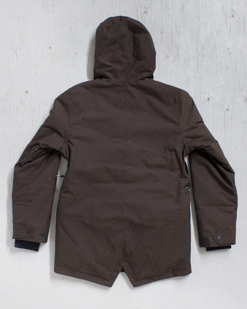 AIRBLASTER -HOT GULLY PARKA BRINDLE MIX  - 2