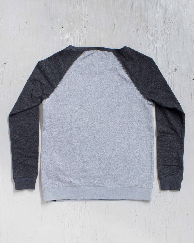 VOLCOM -SWEET SWEAT FLEECE HEATHER GRAY  - 2