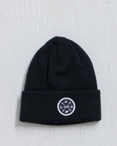 JONES -SHANGRI-LA BEANIE BLACK
