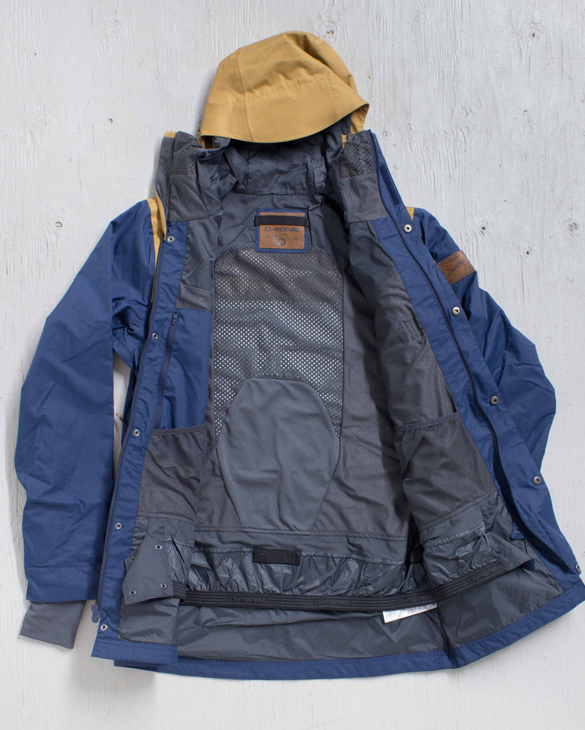 DAKINE -WYEAST JACKET MIDNIGHT/BUCKSKIN  - 2