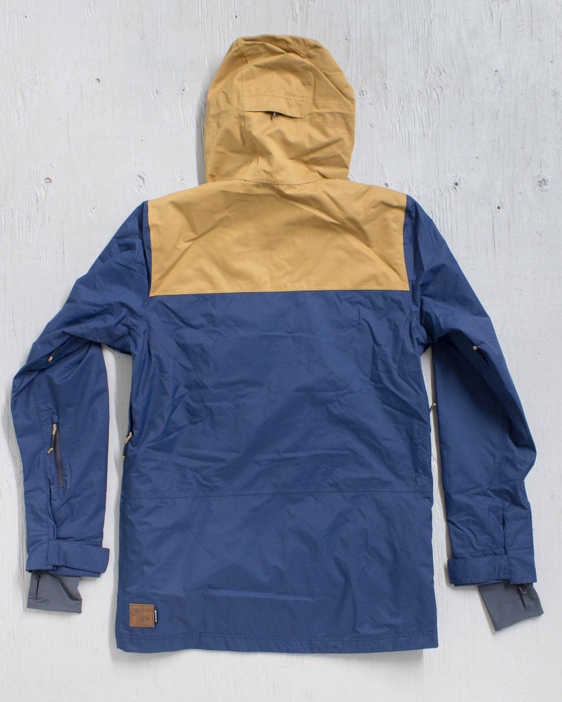 DAKINE -WYEAST JACKET MIDNIGHT/BUCKSKIN  - 3