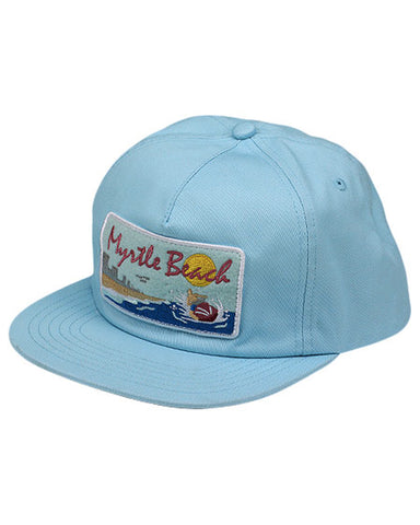 MYRTLE BEACH SNAPBACK CAROLINA BLUE