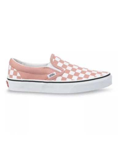 CLASSIC SLIP-ON CHECKERBOARD ROSE