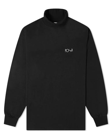 SCRIPT TURTLENECK BLACK