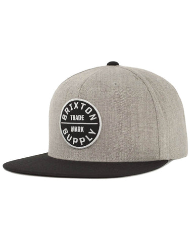 OATH III SNAPBACK LIGHT HEATHER / BLACK