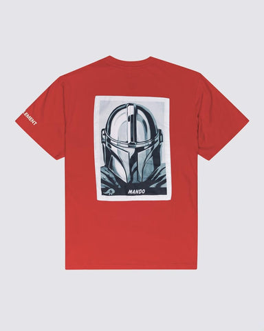 STAR WARS ™ X ELEMENT MANDO T-SHIRT - RED