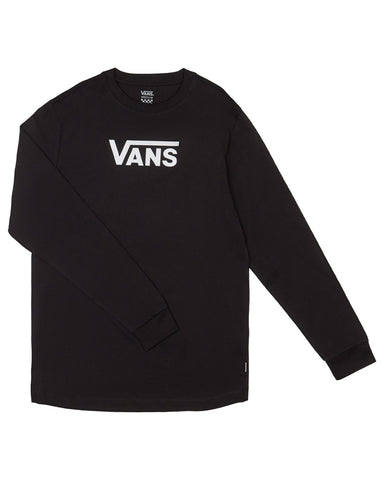 WM FLYING V CLASSIC L / S BLACK