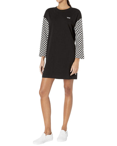 QUANTUM ROBE BLACK/CHECKER
