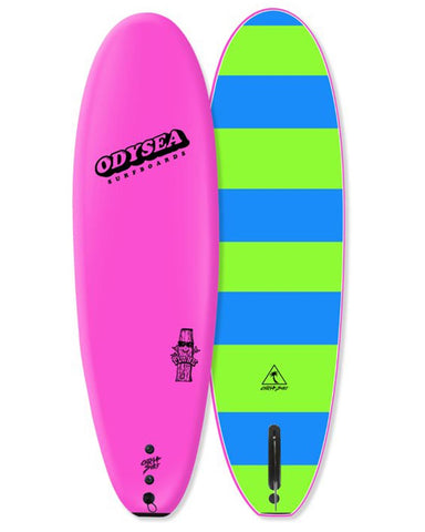 6'0 PLANK - SINGLE FIN PINK (PRE-ORDER MAY)