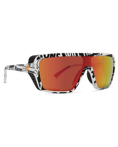 DEFENDER HOUSE RIOT SATIN / GRAY FIRE CHROME LENS