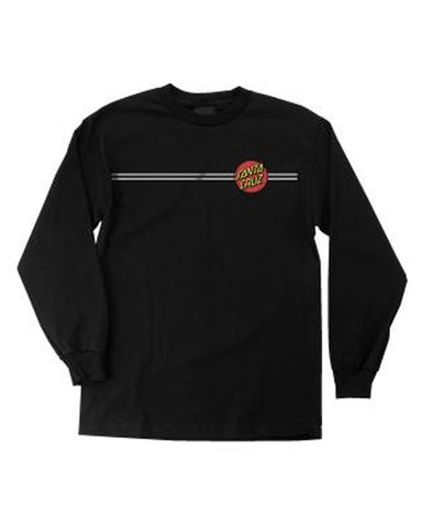 YOUTH CLASSIC DOT L / S BLACK