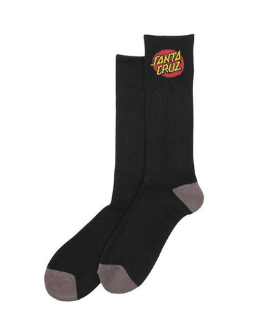 CRUZ SOCKS BLACK - 2 PACK