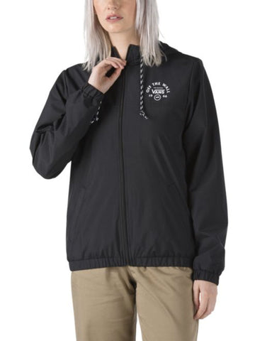 KASTLE TURVEY WINDBREAKER JACKET - BLACK