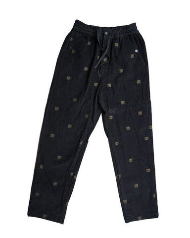 SIGGY CORD PANT BLACK