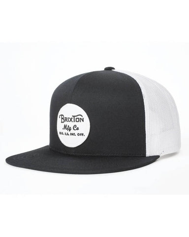 WHEELER MESH CAP BLACK / WHITE