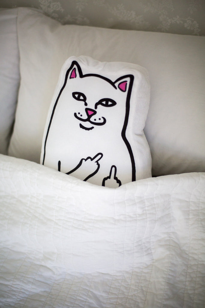 RIPNDIP -PILLOW LORD NERMAL WHITE  - 3