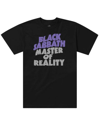 X BLACK SABBATH - MASTER OF REALITY TEE BLACK