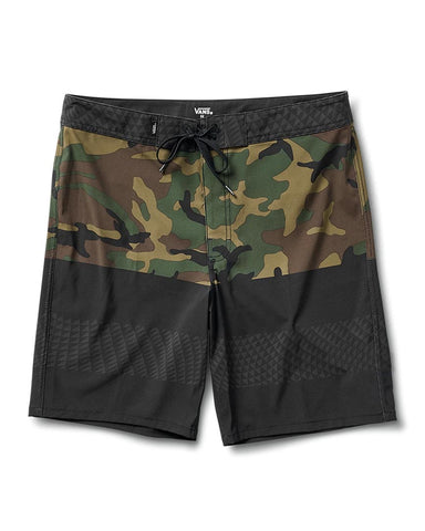 "ERA 19"" BOARDSHORT BLACK/CAMO"