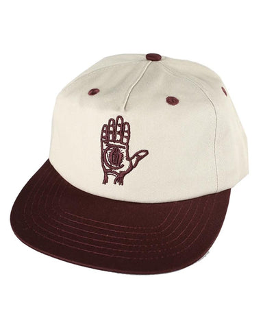 Hand Of Theories Strap Back Pearl Red