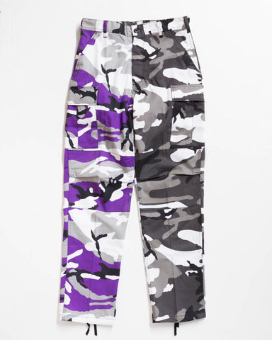 ADRE CARGO RELAXED FIT VIOLET / CITY CAMO