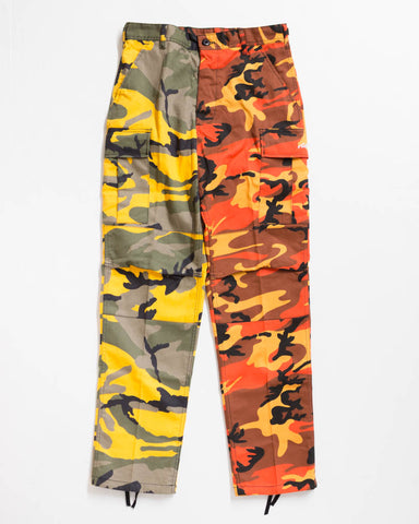 ADRE CARGO RELAXED FIT SINGER YELLOW / SAVAGE ORANGE