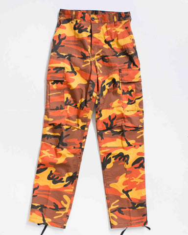 BDU CARGO RELAXED FIT SAVAGE ORANGE
