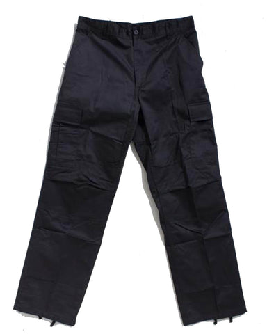 ADRE CARGO ZIP RELAX FIT BLACK