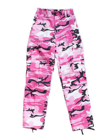 ADRE CARGO RELAXED FIT PINK CAMO