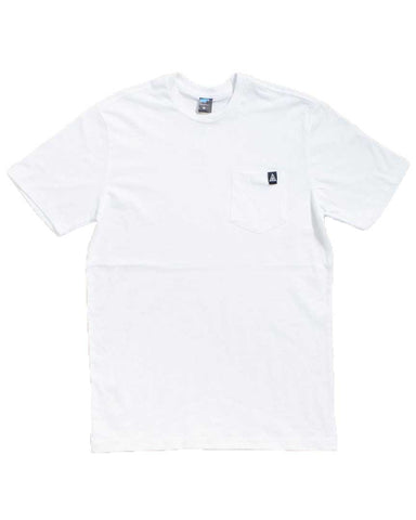 ADRE SMALL LAMBDA POCKET WHITE