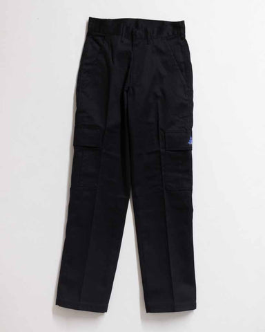 ADRE W CARGO STRAIGHT RELAX FIT NOIR