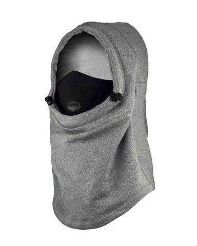 AIRHOOD COMBO | POLAR + DRYTECH HEATHER GRAY
