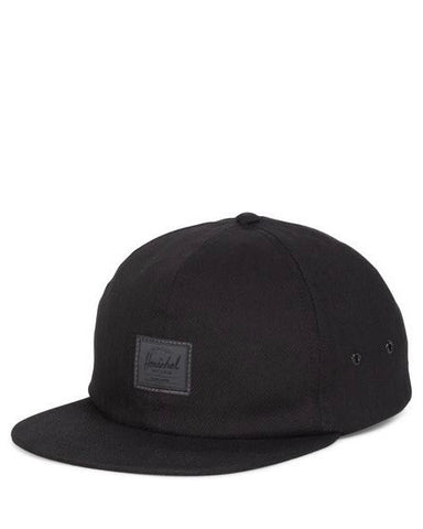 ALBERT CAP  BLACK SURPLUS