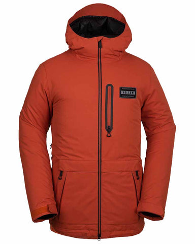 ANALYZER INSULATED JACKET BURNT ORANGE