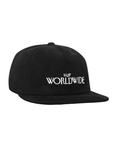ARCHIVE STRAPBACK HAT BLACK